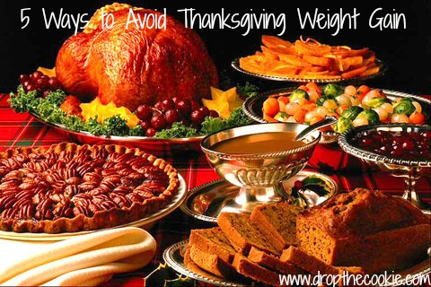5 Ways to Avoid Thanksgiving Weight Gain
