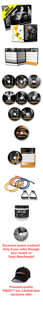 P90X3 Deluxe DVD Package
