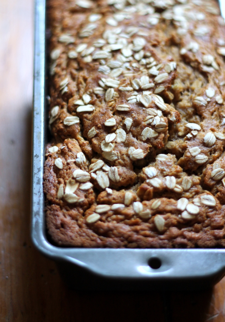 Healthy banana bread elizabeth hartke drop the cookie well thankfully this healthy banana bread recipe is all the pleasure without the guilty since my old man discovered the food network forumfinder Gallery