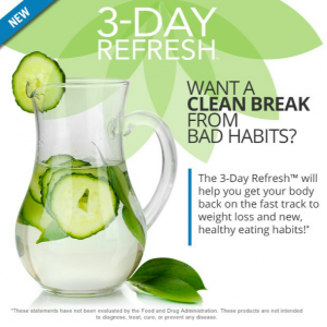 Experience The Benefits Of The 3 Day Refresh For Yourself