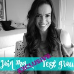 join my exclusive test group